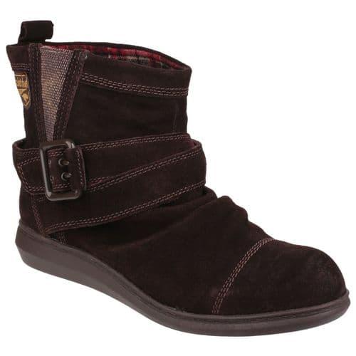 Rocket Dog Mint Ladies Long Boots Tribal Brown